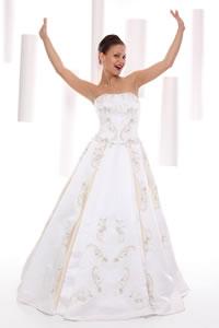 Escolhendo o vestido de noiva