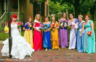 Vestidos inspirados em princesas Disney | Foto: Divulgação